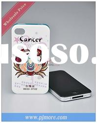 Front and Exchangeable Back 3d case For iphone 4 case with high quality and fashion design