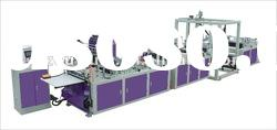 Full Automatic Tridimensional Nonwoven Bag Making Machine