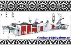 Full Automatic soft loop handle bag making machine(with servo motor)