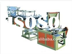 Garbage Bag making Machine With Through Ribbon