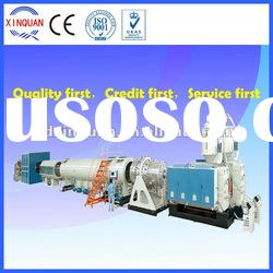 HDPE gas and water supply pipe extrusion machine