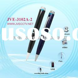 HD Pen Camera;mini hidden dvr recorder camera, USB voice video recorder JVE-3102A-2