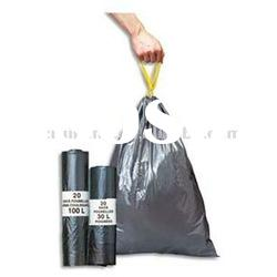 HOT!!! Biodegradable plastic drawstring garbage bag