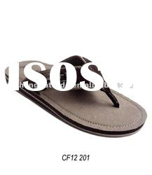 High quality men's leather sandal