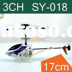 Hot!! Shipping free for 3CH mini infrared rc helicopter SY-018 radio control toy