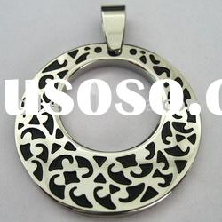 Hot sale 316L stainless steel pendant with stock available/lady pendant