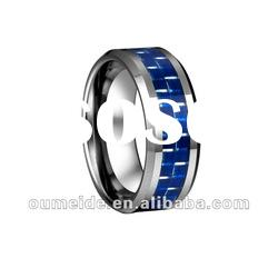 Hot sale tungsten carbide wedding rings