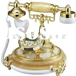 Hot selling jade antique decorative telephone for antique french furniture