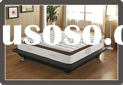 Hot selling memory foam pocket coil spring mattress from factory