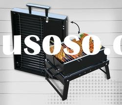 ILURE folding charcoal grill stainless steel A826 convenient to carry