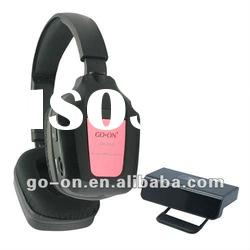 IR wireless headset for TV&PC&DVD with high quality stereo sound