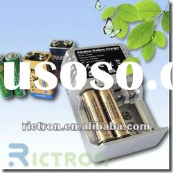 Intelligent battery charger regenerating AAA,AA,9V batteries
