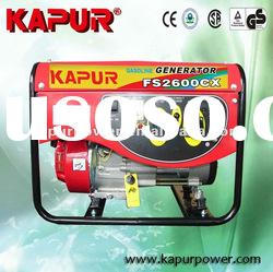 KAPUR Factory price FS Model 2-6Kw Air-cooled Gasoline Engine Generator Hot sale*!!!