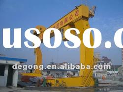 L type single girder gantry crane for sale