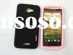 Larger in stock Silicone case cover for HTC ONE X Mixed colors