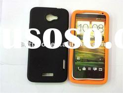 Lowest price Silicone case cover for HTC ONE X Mixed colors