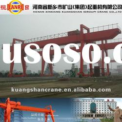 MG Type Heavy Duty Double Girder Electric Gantry Crane 40 ton