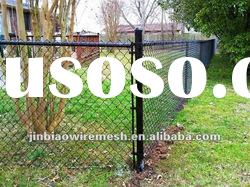Made-In-China chain link fence/ diamond wire fence(ISO9001/2000)