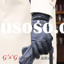 Men's fashion leather gloves