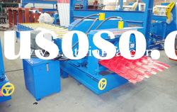 Metal Sheet Glazed Tile Roll Forming Machine XF28-207-1035
