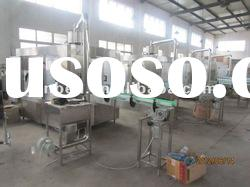 Mineral water rinsing filling and capping machine
