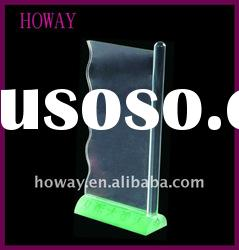 Modern Clear Acrylic Magazine Holder,business display,tabletop stand acrylic display,acryliy holder