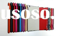Multi-color real leather back cover case for ipad