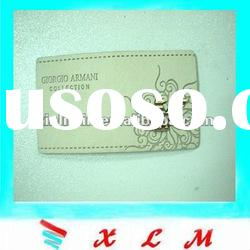 New design jeans leather label for jeans
