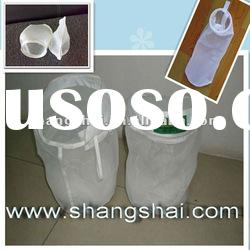 Nylon Filter Fabric Mesh with Stainless Steel Wire Ring (High quality, on sales)