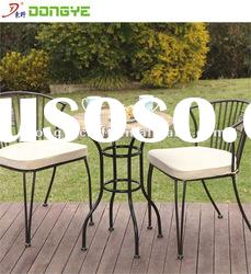 Outdoor furniture Round Marble Bistro Table Set