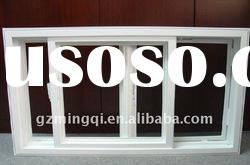 PVC Sliding double glazing glass windows