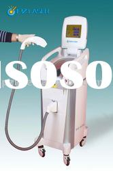 Permanent diode laser hair removal system