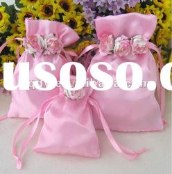 Pink paper flower candy bag/Wedding Candy Bag/Wedding decoration gift/Candy bag for wedding