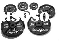 Planted Olympic Weight Plate/Cast iron weight plate