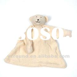 Plush toy soft baby blanket plush polar bear doll