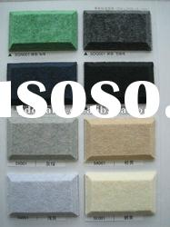 Polyester acoustic panel | K Music Room | Hotel Room | wall decoration materials | wall decoration