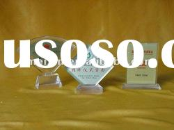 Pop Acrylic trophy display stand