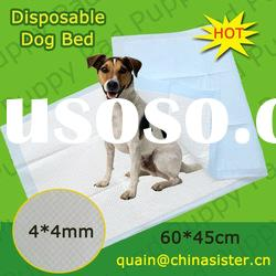 Popular size:45*60cm pet puppy pad disposable dog bed