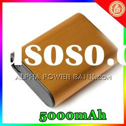 Portable high capacity 5000mAh External Battery Charger Power Bank for iPhone4/4s