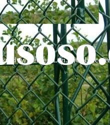 Practical Galvanized PVC Coated Chain Link Fence For Sport