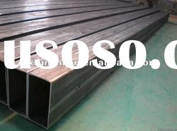 Q235 steel welded carbon steel rectangle tube