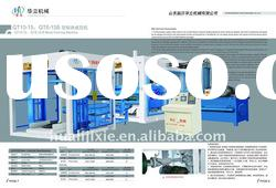 QT8-15 brick making machine block machine brick machine