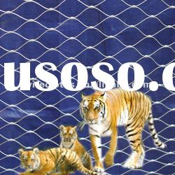SS304/316 Stainless Steel Wire Rope Mesh for Cages