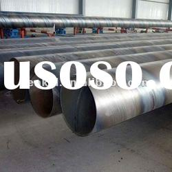 SSAW Welded carbon API5L*42 spiral MS carbon steel pipes