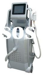 Salon beauty equipment with IPL for hair removal skin care