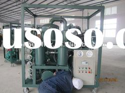 Supply Double-stage vacuum Transformer oil purifier/ Insulating oil purification machine