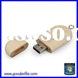Sustainable material usb flash drive 4gb with logo