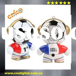 The gift mini headphonies speaker for mobile phone, iPod,Mp3 player,laptop and tablet PC