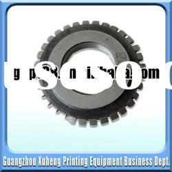 Top quality with reasonable price perforated wheel ror printing machine parts