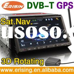 UK promotion system 7 inch car player Car GPS DVB-T USB/SD/DVD